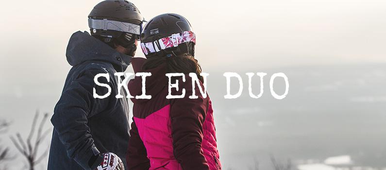 Ski en duo